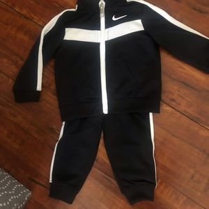 Baby Nike sweat suit 9 months